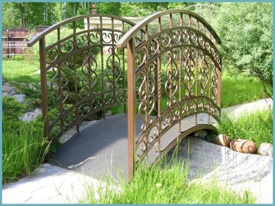 виды мостиков для сада