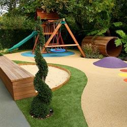 Площадка для детей на даче