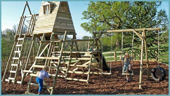 площадка детская на даче