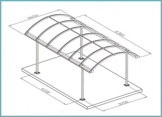 как сделать крышу для авто