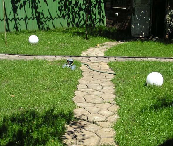 Дорожки садовые