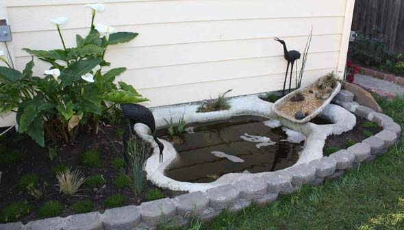 водоем на даче