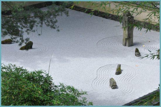 камни для японского сада