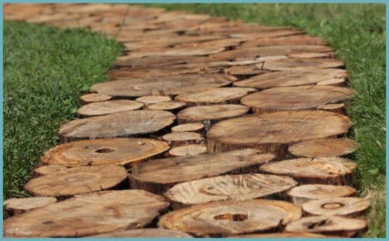дорожка из дерева