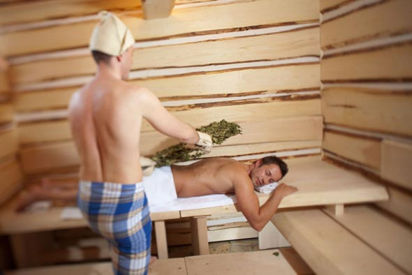 Как париться в бане