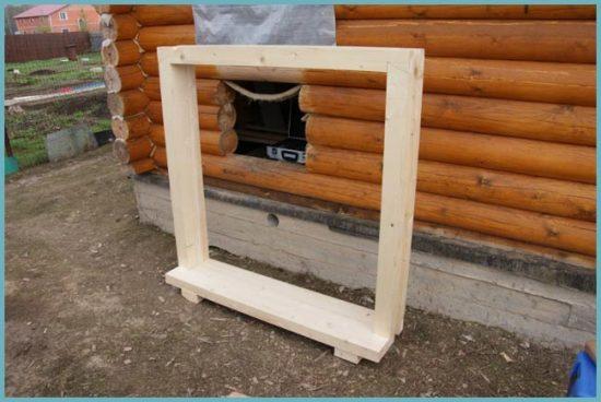как сделать окна в деревянном доме
