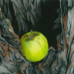 Дупло в яблоне
