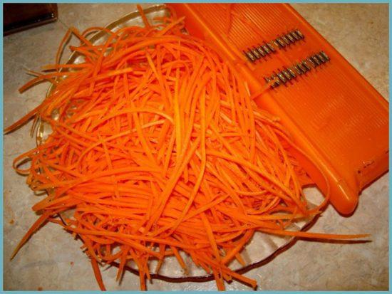 консервация моркови