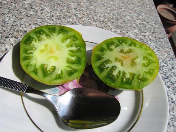 Сорт томатов Малахитовая шкатулка