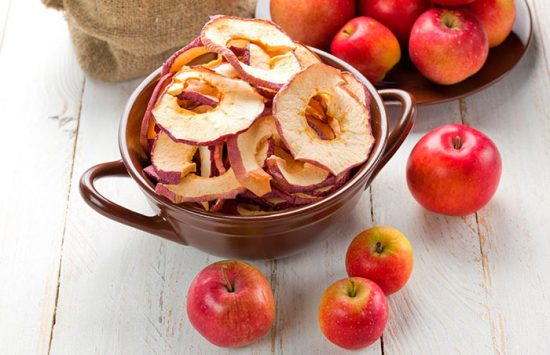 сушка яблок в духовке электрической