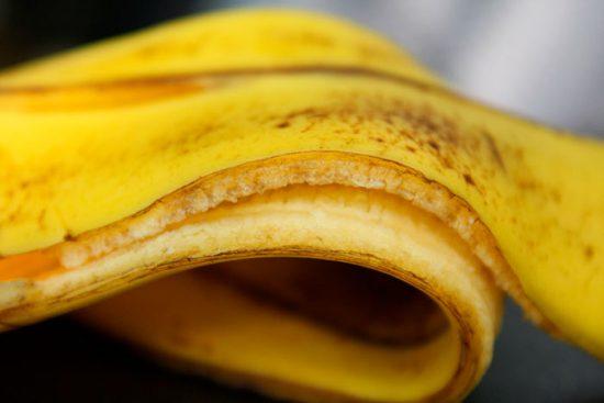 удобрение из банановой кожуры