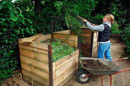как заготовить компост