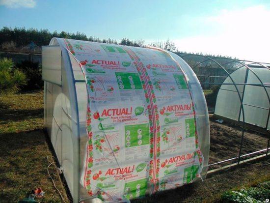 как построить укрытие для растений