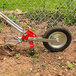 как вскопать огород