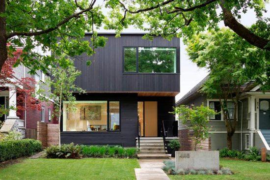 черты строения в стиле модерн