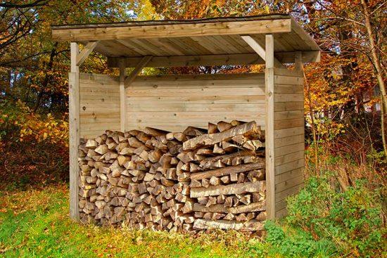 сарайчик для дров