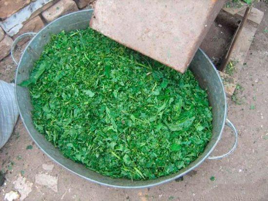 измельчитель травы из стиральной машины