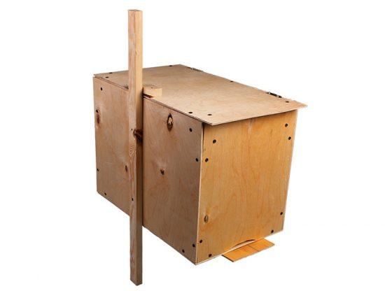 ловушка для пчел из фанеры