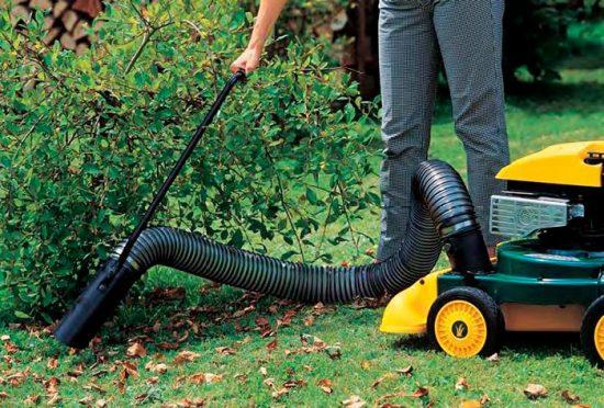 устройство для уборки листьев