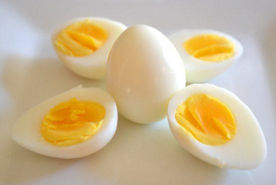 яйцо вареное