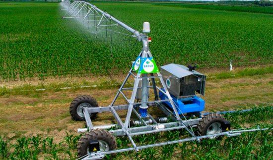 как поливать поле