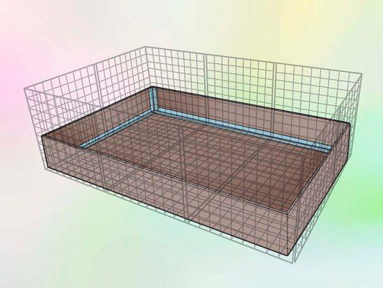 схема клетки для грызуна