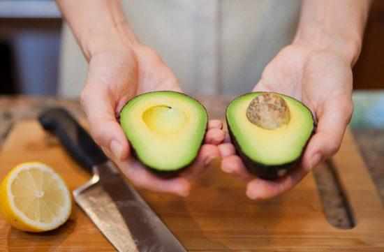 как разрезать авокадо