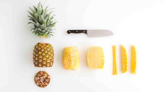 как порезать плоды