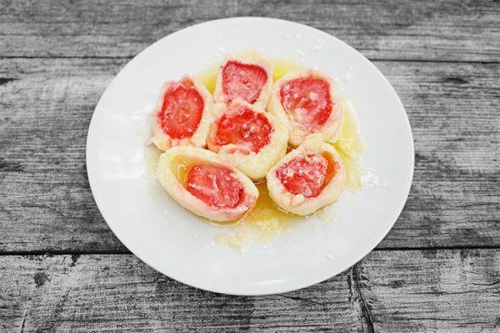 блюда с фруктами