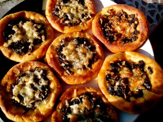 выпечка с картошкой и грибами