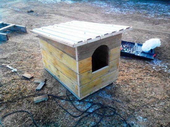 как сделать дом для собаки
