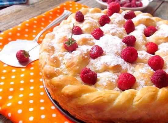пышный пирог