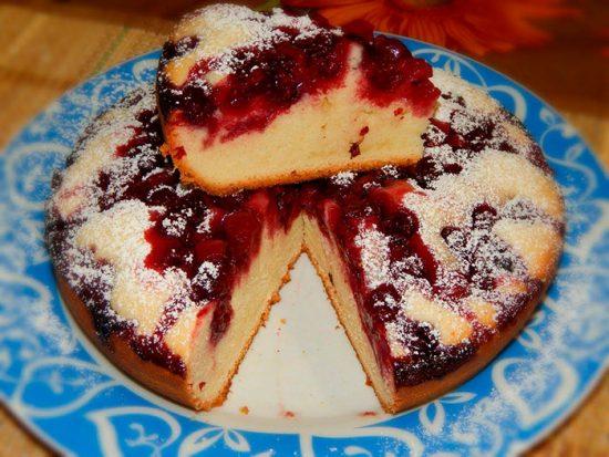 пирог с манкой