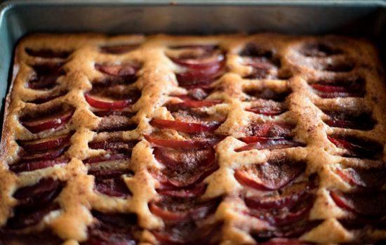 пирог с открытой начинкой