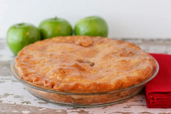 яблочная выпечка
