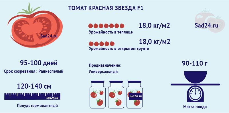 Красная звезда F1 -https://sad24.ru
