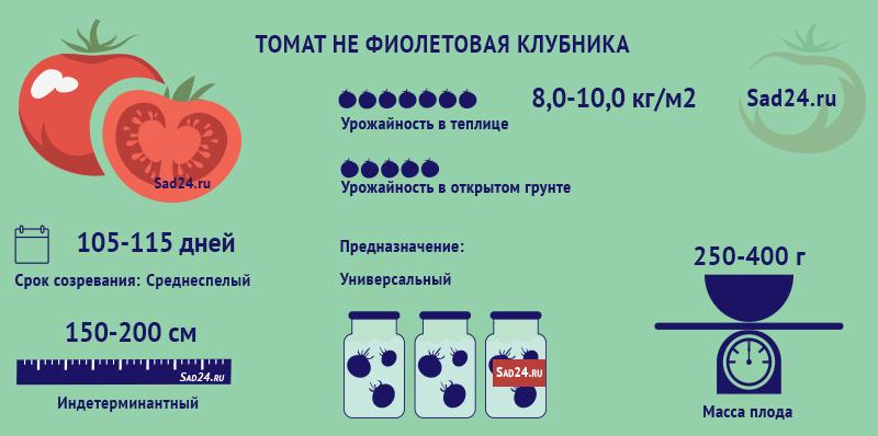 Не Фиолетовая клубника - https://sad24.ru