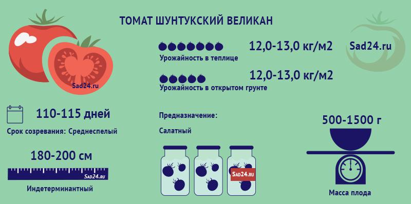 Шунтукский великан - https://sad24.ru