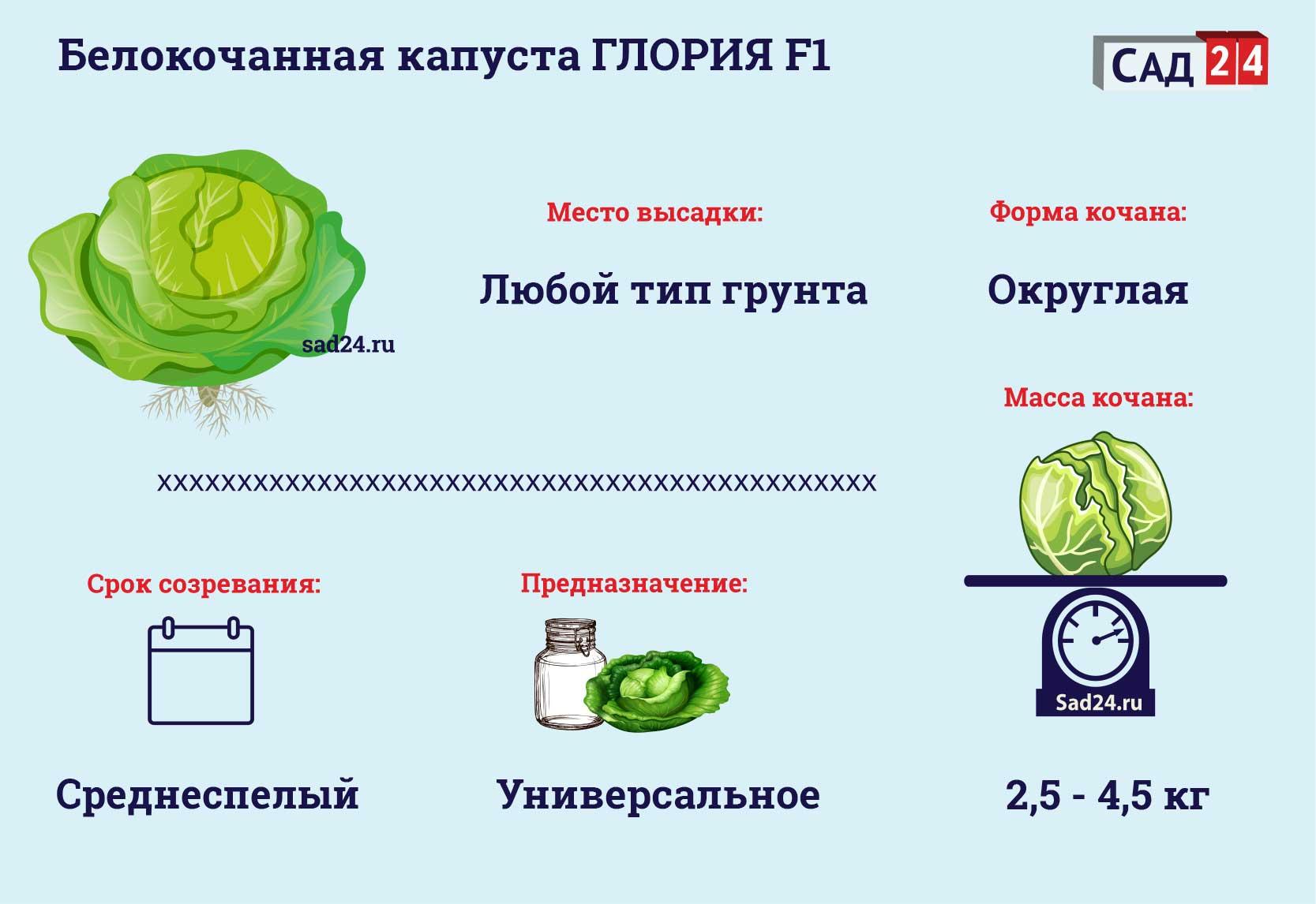 Глория F1 - https://sad24.ru