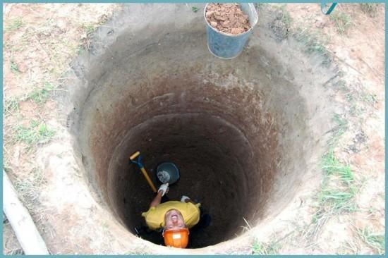 как обезопасить себя при строительстве колодца