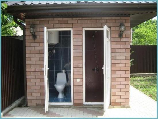 как построить душ на фундаменте