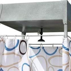 летний душ на дачном участке