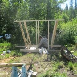 строительство туалета своими руками