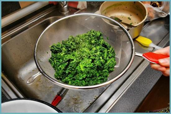 как протереть шпинат для заготовки на зиму