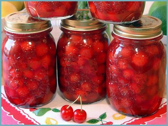как приготовить вишневый компот