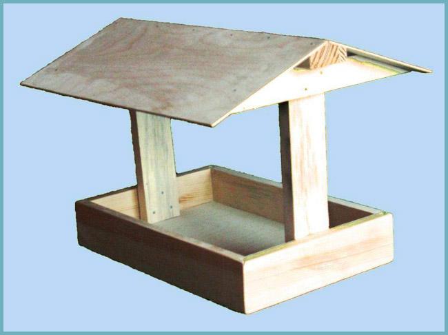 Кормушка для птиц своими руками из коробки