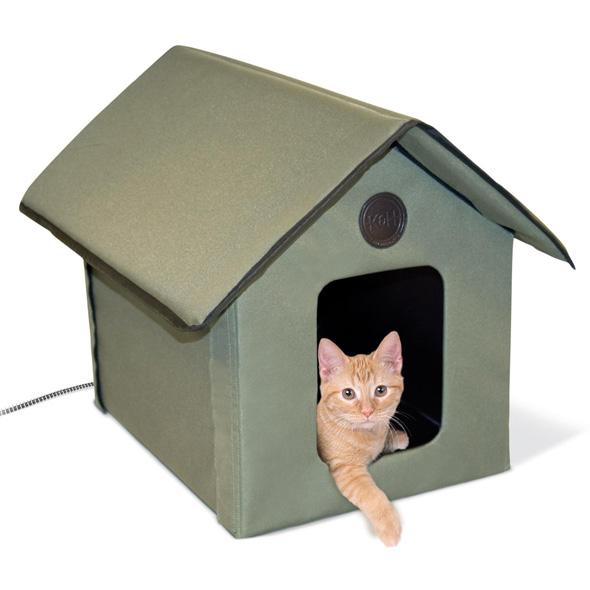 Кошки дом своими руками с фото