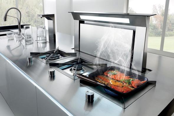 Вытяжка на кухне в частном доме