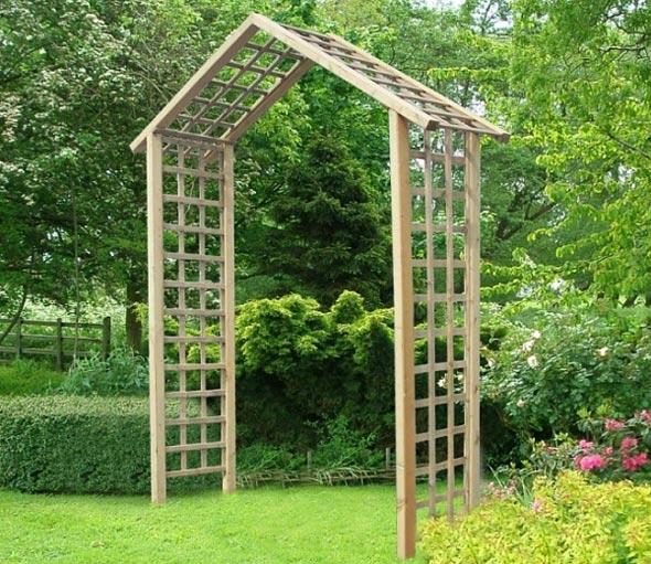 Садовая арка для вьющихся растений